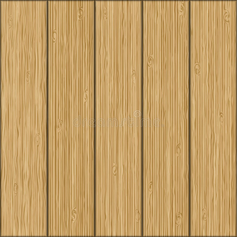 Beautiful seamless background. Realistic texture of wooden boards. vector illustration