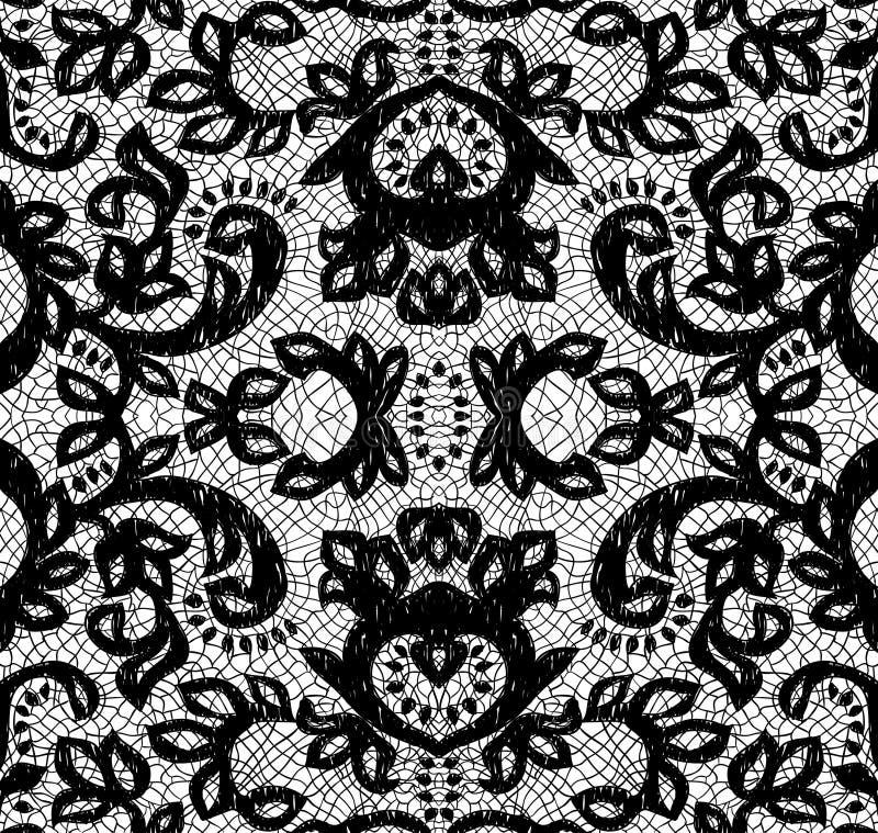 Beautiful seamless lace vector illustration