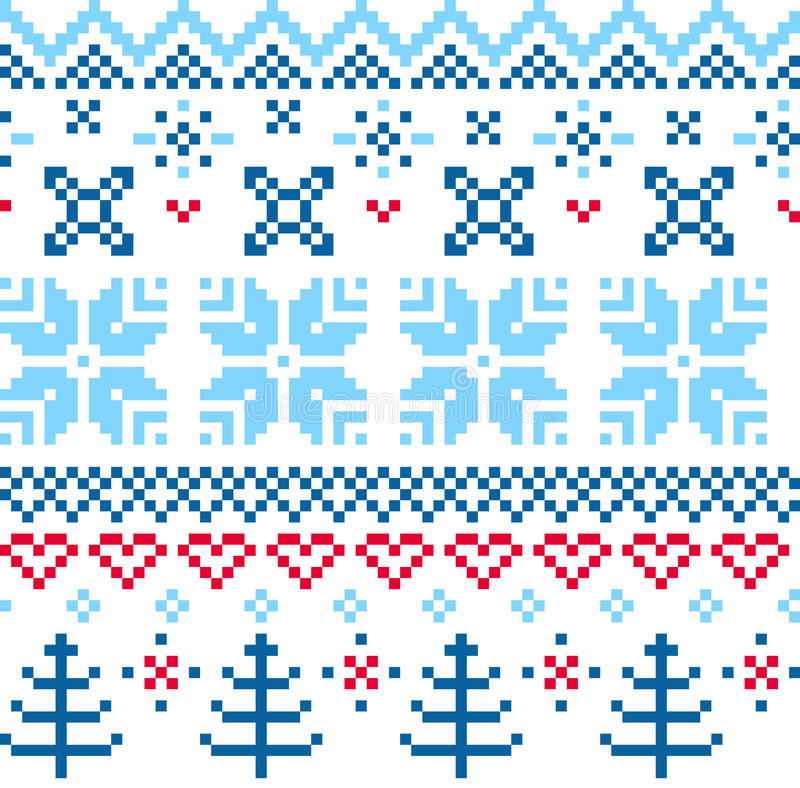 Download Beautiful Seamless Norway Pattern Stock Photo - Image: 38340740