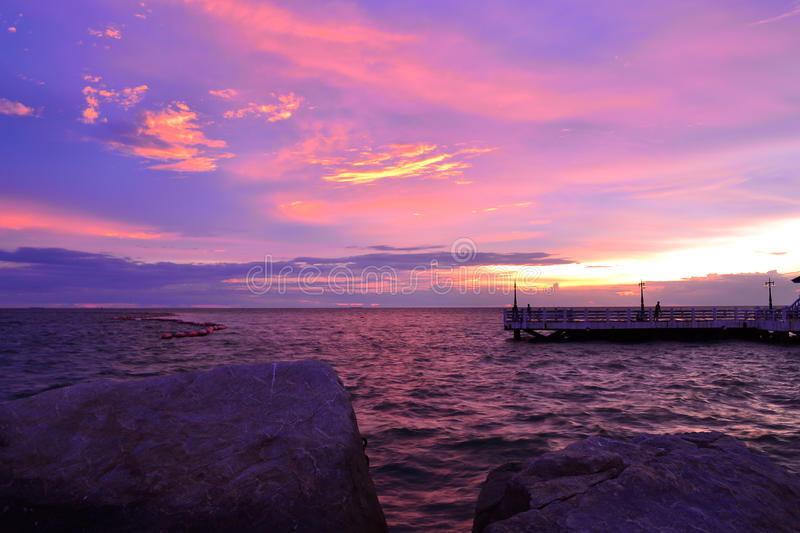 Download Beautiful seascape stock image. Image of natural, peaceful - 26080463