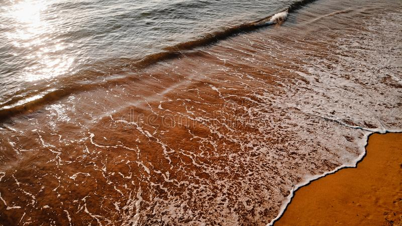 Beautiful Seaside, Spain royalty free stock photo