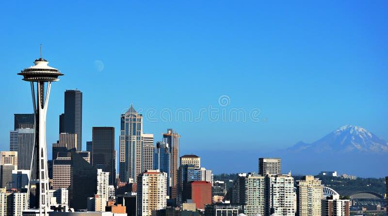 Beautiful Seattle royalty free stock photo