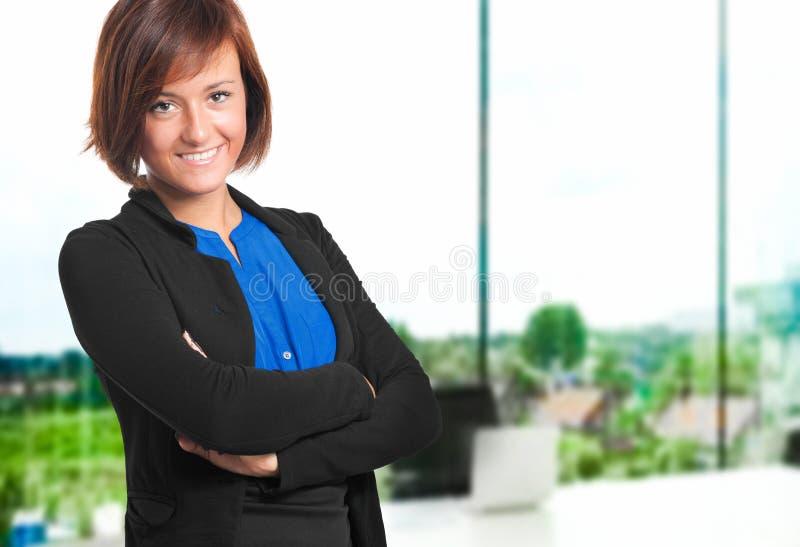 Download Beautiful secretary stock image. Image of education, happy - 26830687