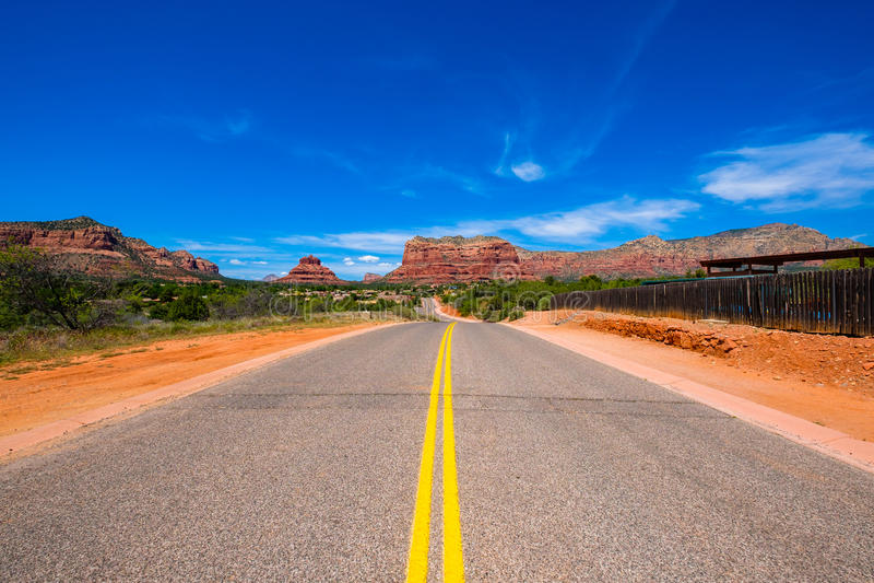 Beautiful Sedona Landscape stock photo