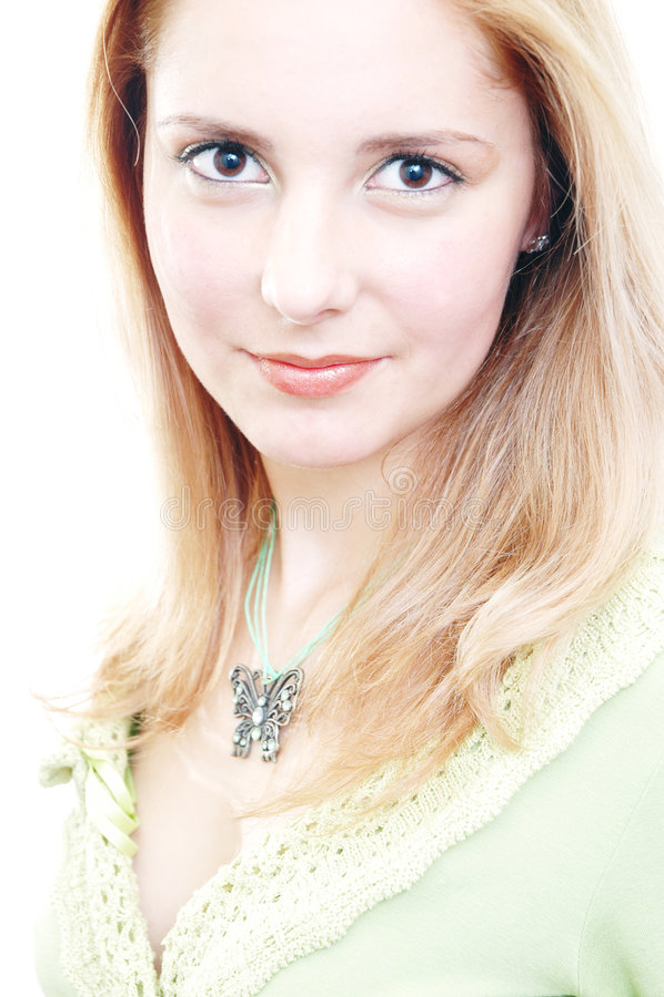 Beautiful self-confident woman royalty free stock photos