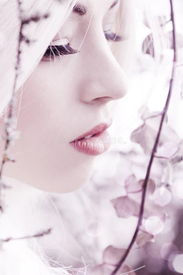 Beautiful, sensual girl royalty free stock image