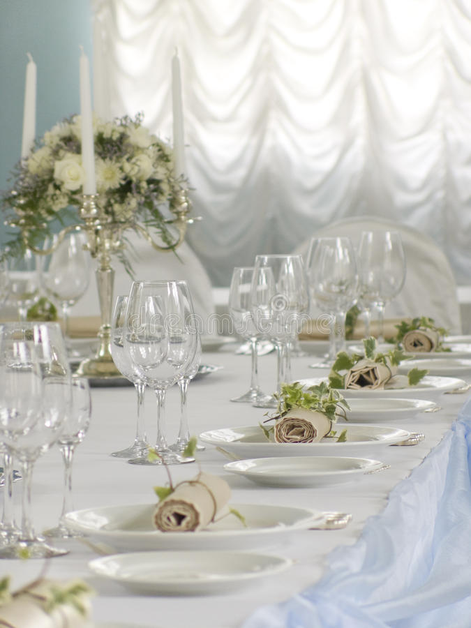 Download Beautiful Served Table Stock Photography - Image: 19790512