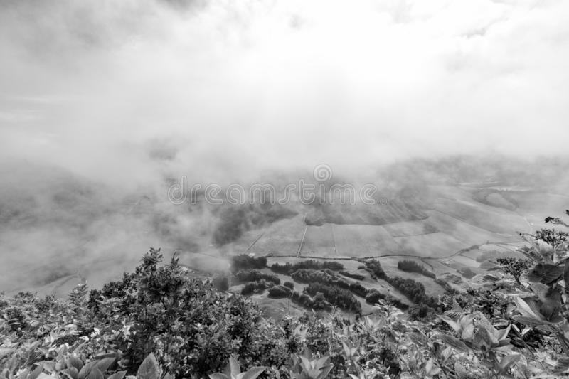Beautiful Sete Cidades royalty free stock images