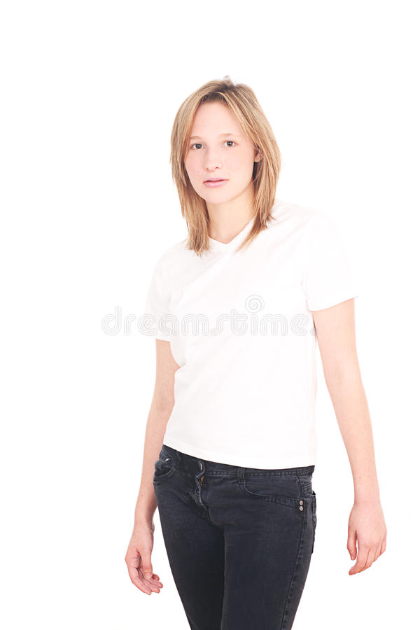 Beautiful seventeen year old girl