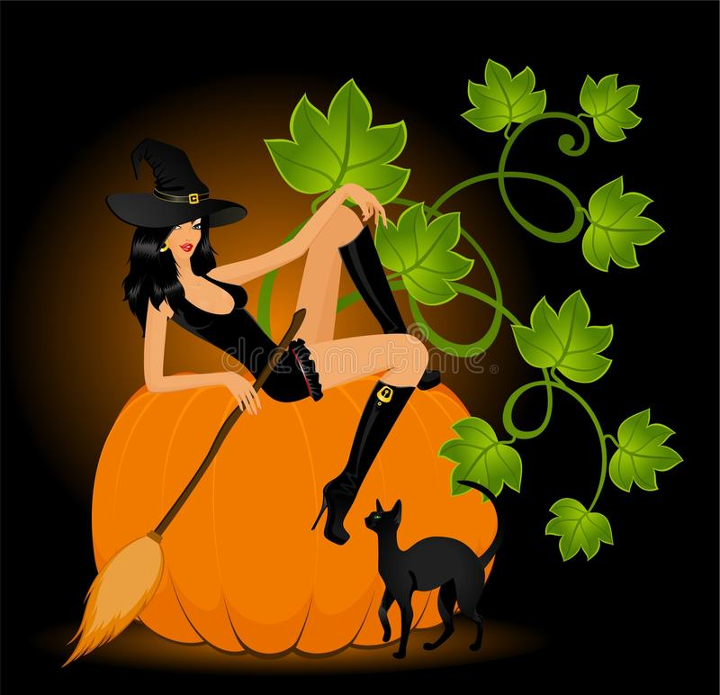 Download Beautiful Sexual Witch Royalty Free Stock Images - Image: 11603429