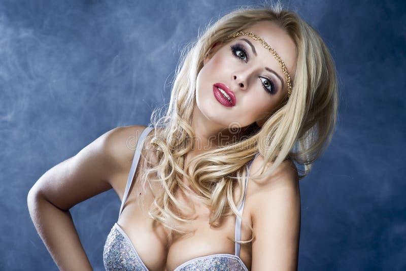 Beautiful Blond Girl royalty free stock photo