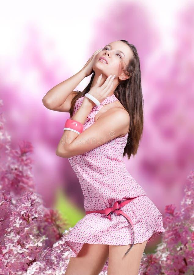 Download Beautiful girl stock image. Image of jewellery, eyes - 22992975