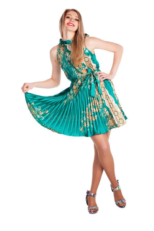 Beautiful woman dance stock images