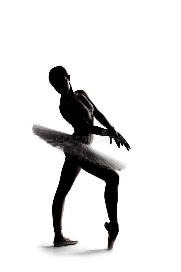 Free Beautiful Shadow Silhouette Of Ballerina 2 Stock Photography - 22919462