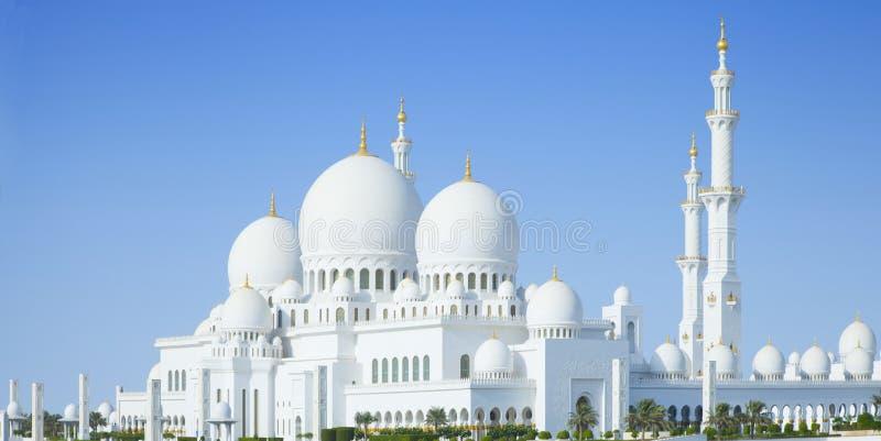 Beautiful Sheikh Zayed Mosque in Abu Dhabi city, UAE. Sheikh Zayed Mosque in Abu Dhabi city, UAE stock photo
