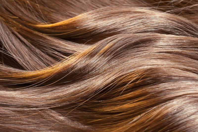Beautiful shiny hair texture stock photos