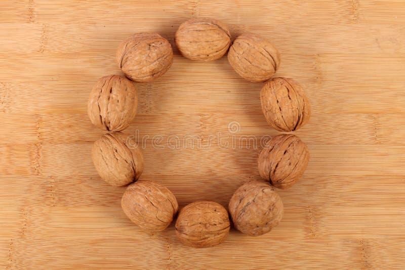 Wall-nuts royalty free stock image