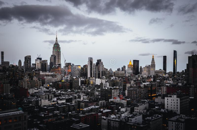 Beautiful shot of New York stock images
