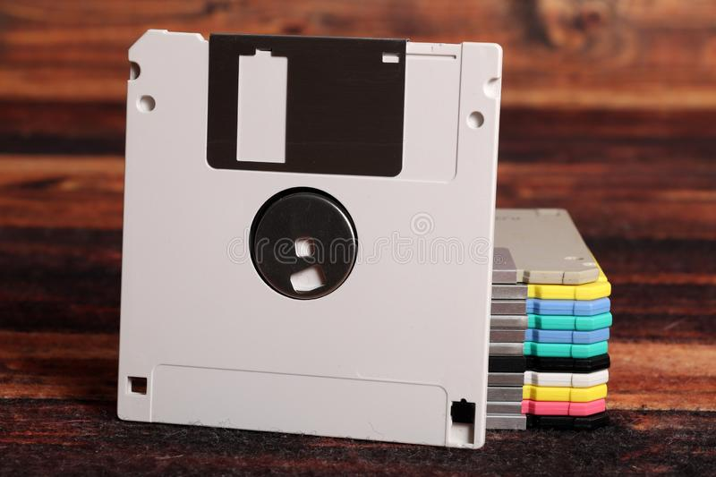 Floppy disks royalty free stock photography