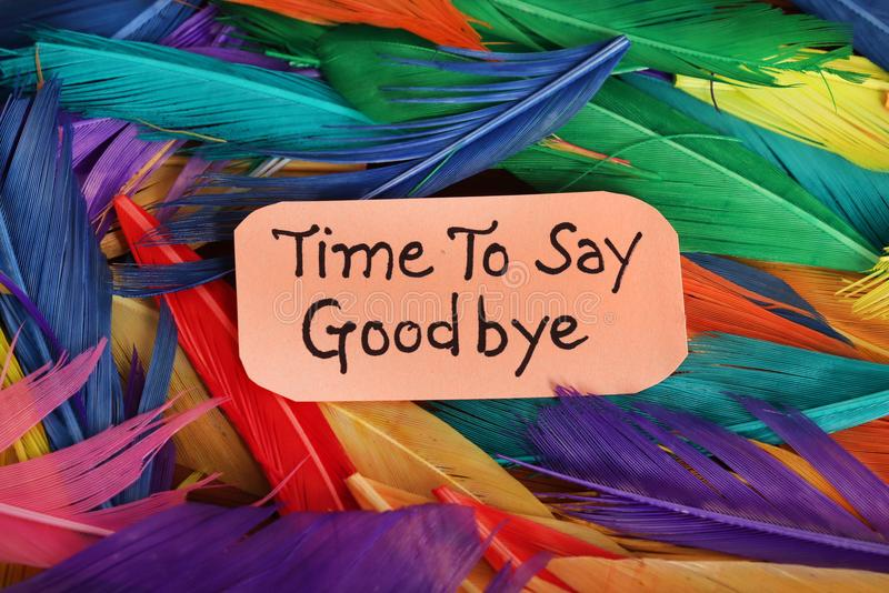 Good bye royalty free stock image