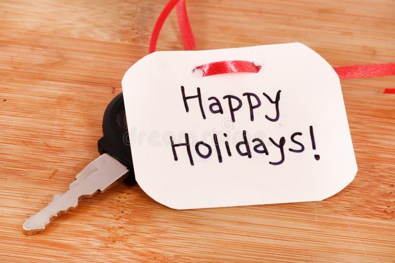 Happy holidays royalty free stock image