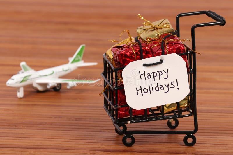Happy holidays stock image