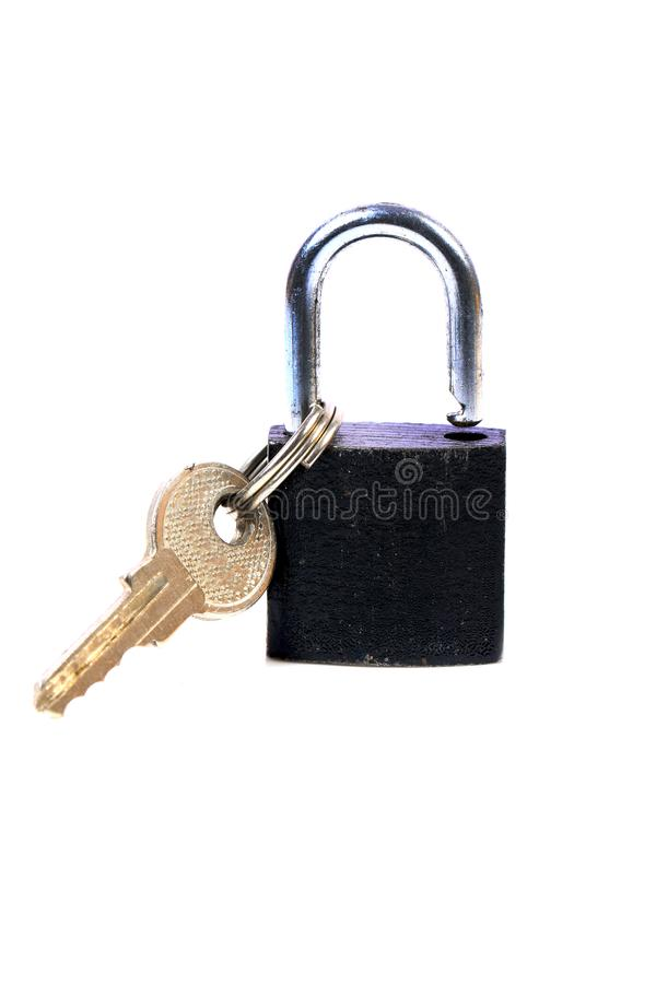 Lock and key royalty free stock photography