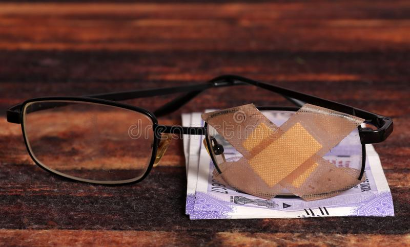 Legal money stock image