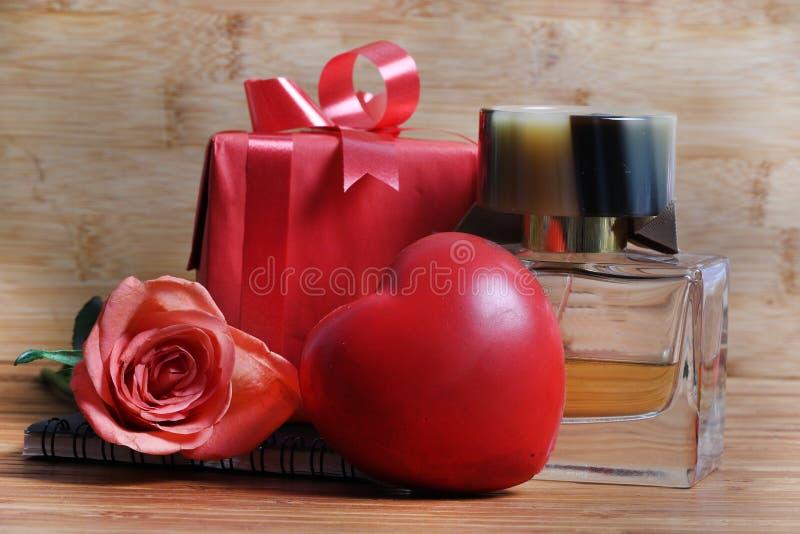 Rose perfume royalty free stock photo