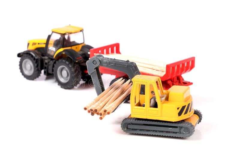 Loader toy stock photos