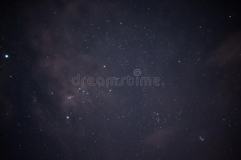 Night sky stock images