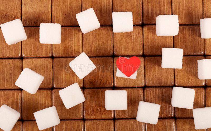 Sugar love stock photo