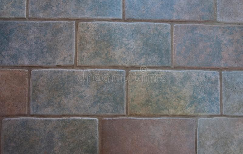 Beautiful shot of a tile wall - perfect for a cool background wallpaper. A beautiful shot of a tile wall - perfect for a cool background wallpaper stock photo