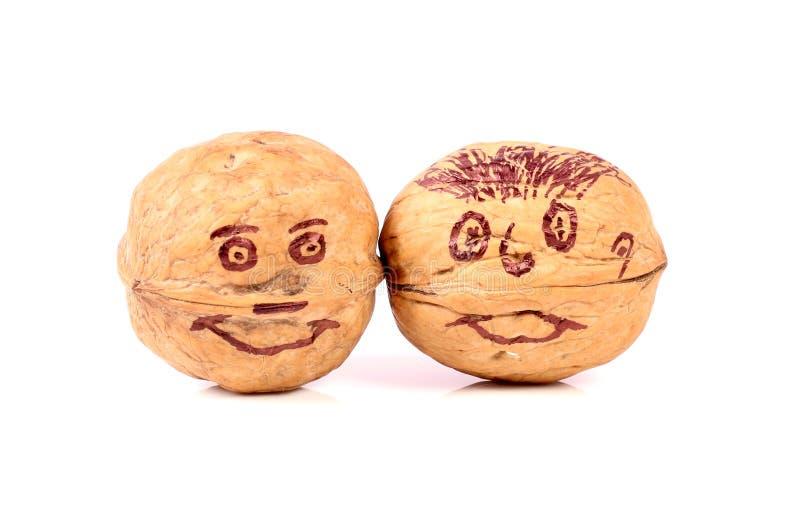 Wall-nuts stock photo