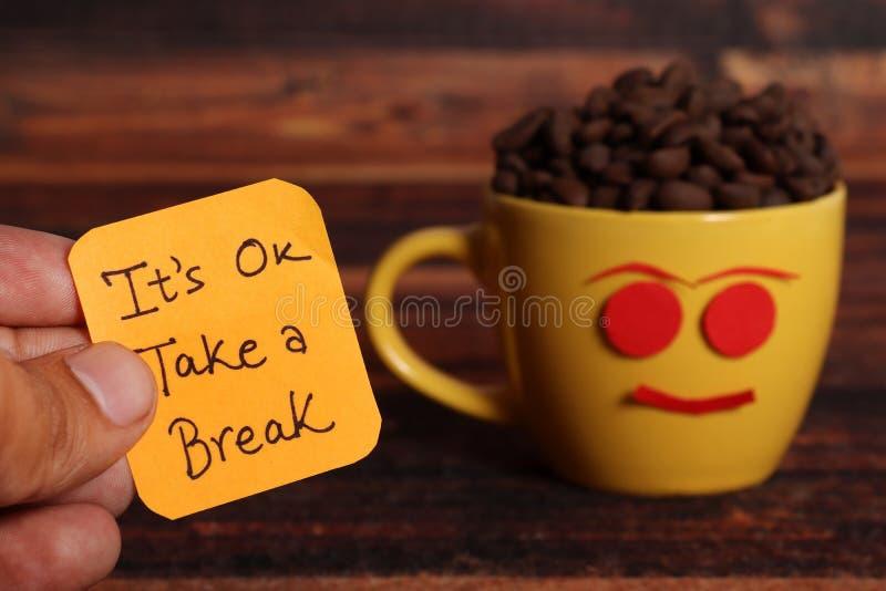 Break time stock images