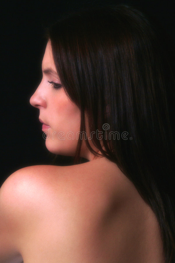Beautiful Shoulders royalty free stock photos