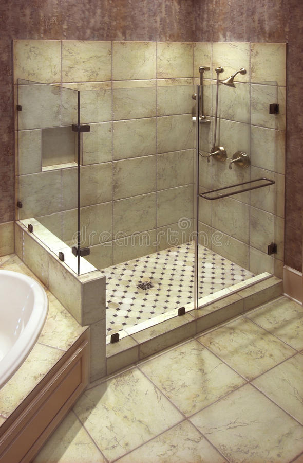 S And B Filters >> Beautiful shower stock photo. Image of wall, shower, tile - 17827626