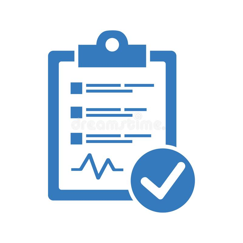 Diagnostic Report Icon vector illustration