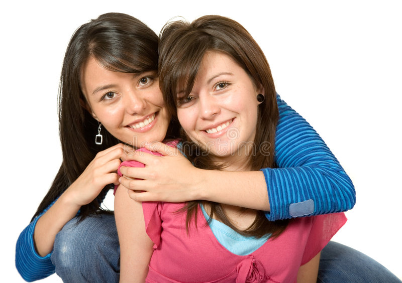 Download Beautiful sisters stock photo. Image of blue, people, similar - 1441382
