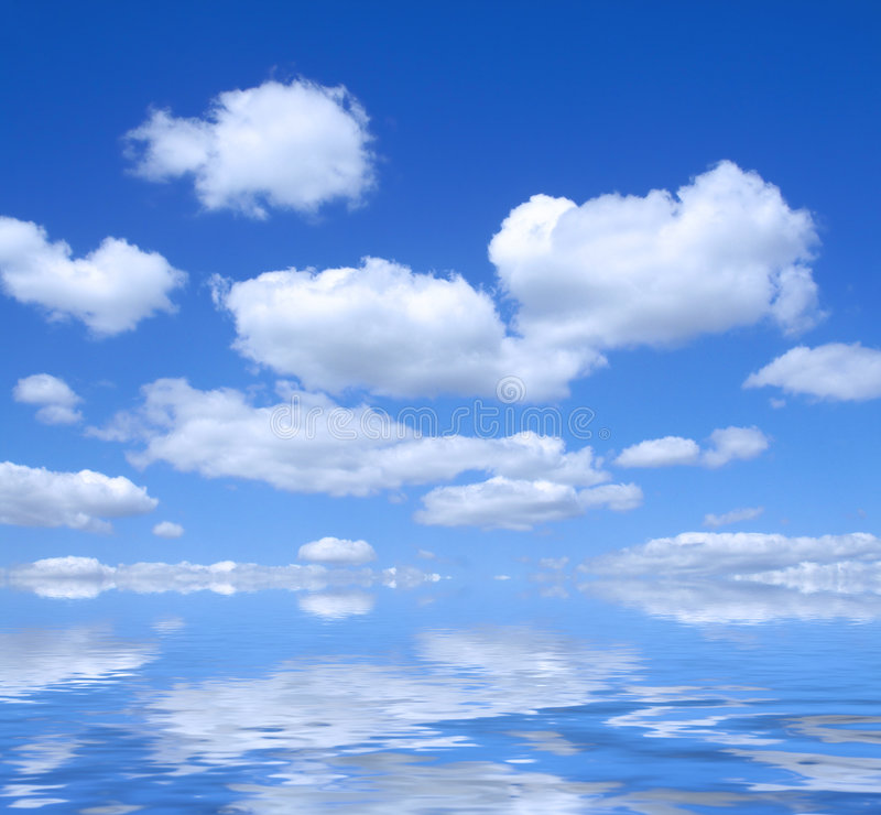 Beautiful sky royalty free stock image