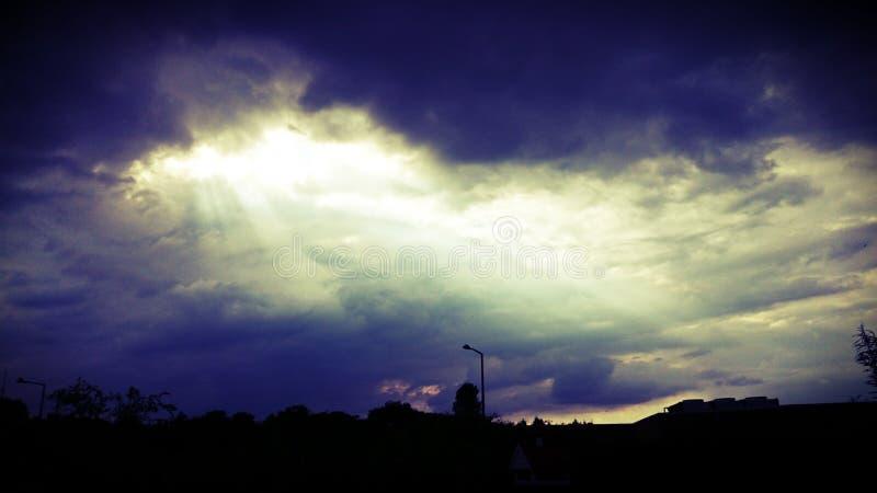 Beautiful Sky Art royalty free stock photos