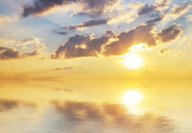 Beautiful sky background. stock image