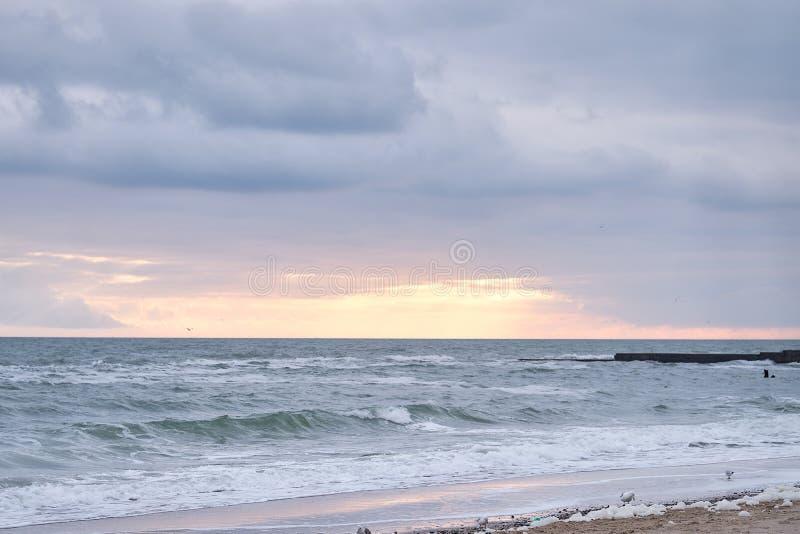 Beautiful sky background. stock photography