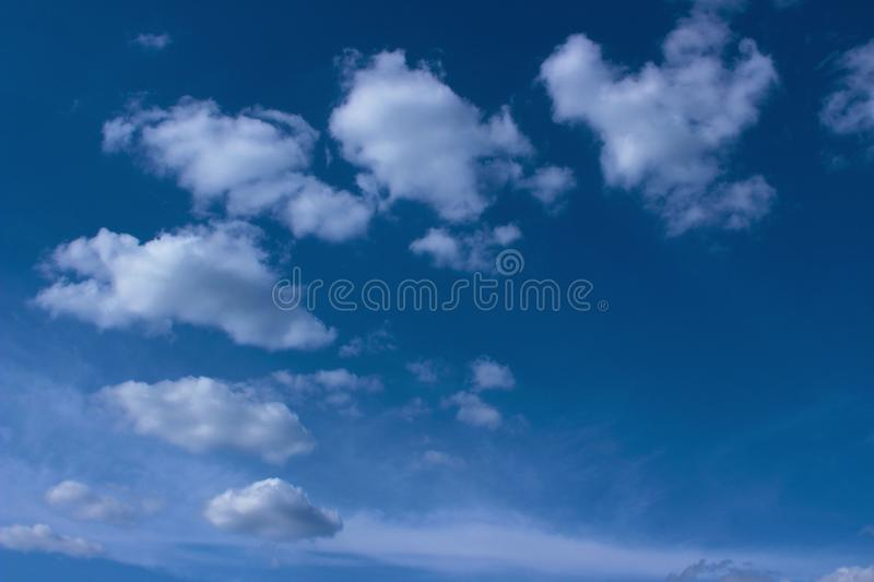 Beautiful sky background. Freedom, nature, landscape concept. royalty free stock images
