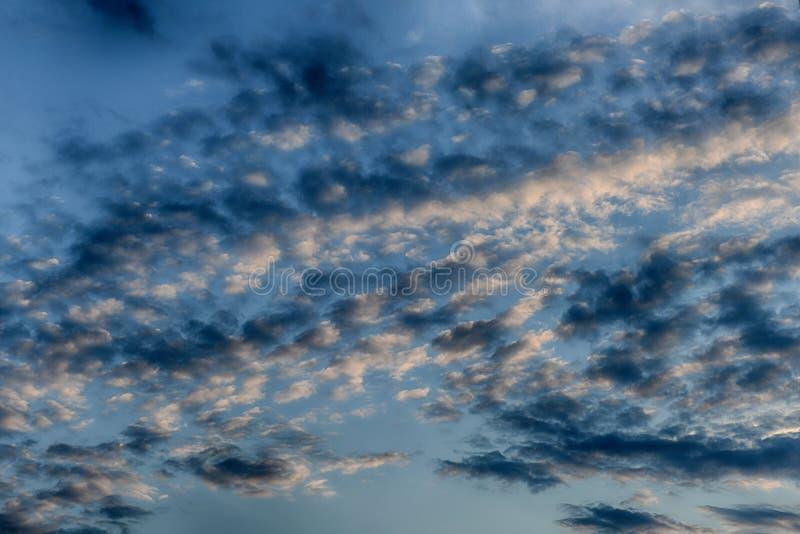 Beautiful sky background stock photo