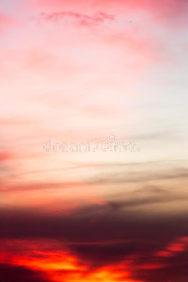 Beautiful sky background in twilight color. Beautiful cloud sky background in twilight color stock photography