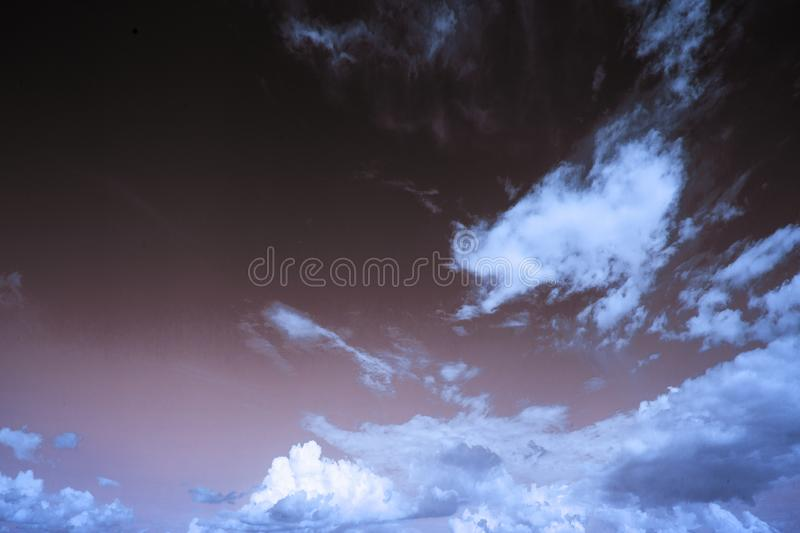 Beautiful sky with clouds. Backgroud royalty free stock photography