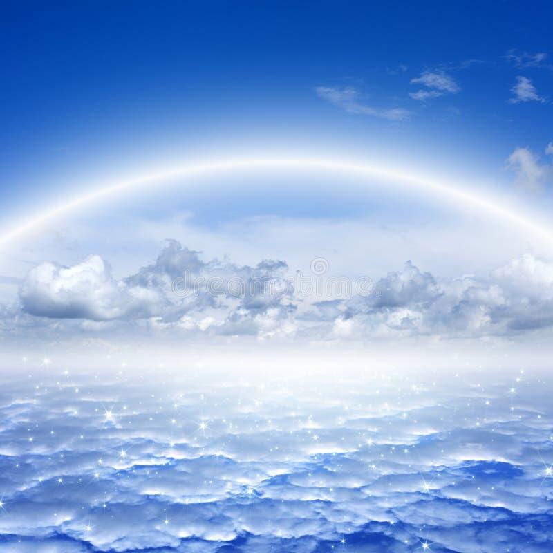 Beautiful sky, heaven royalty free stock photo