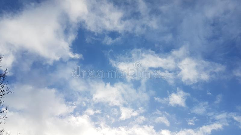 Beautiful sky sunrays and clouds, picturesque view with balloon. Beautiful sky sunrays and clouds, picturesque view with stock photos