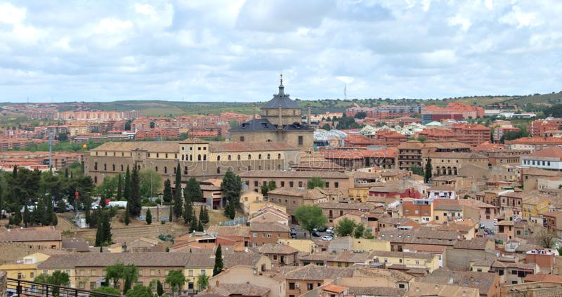 City of Toledo Spain. Beautiful skyline of the city of Toledo Spain royalty free stock photos